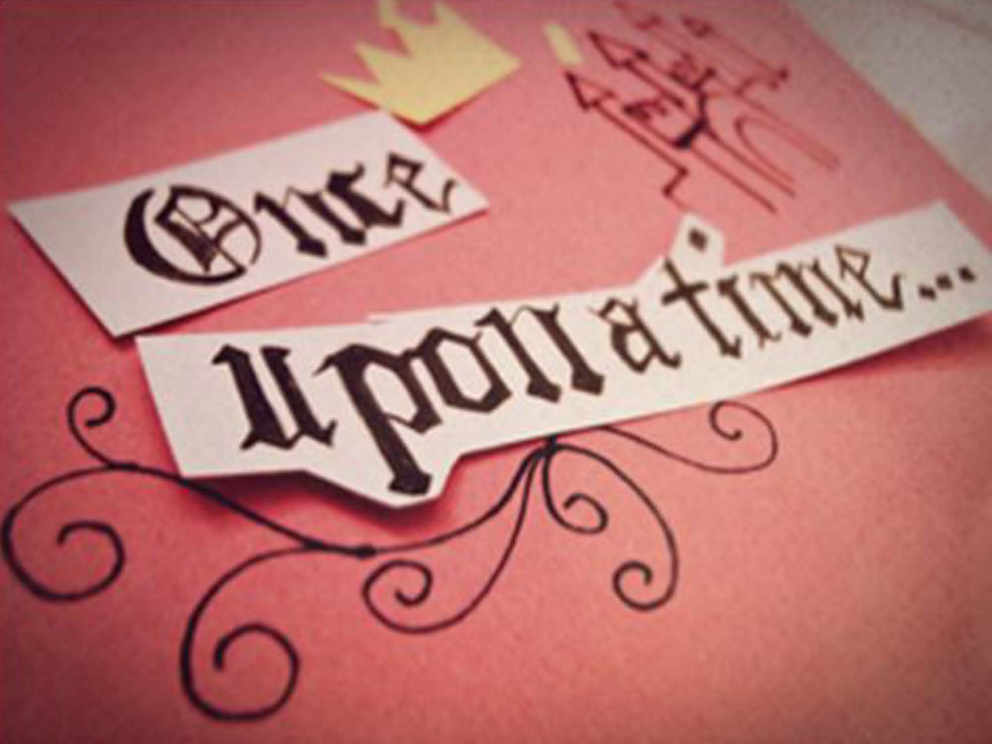 Once Upon A Time Writing Fairy Tale But that is where the fairy