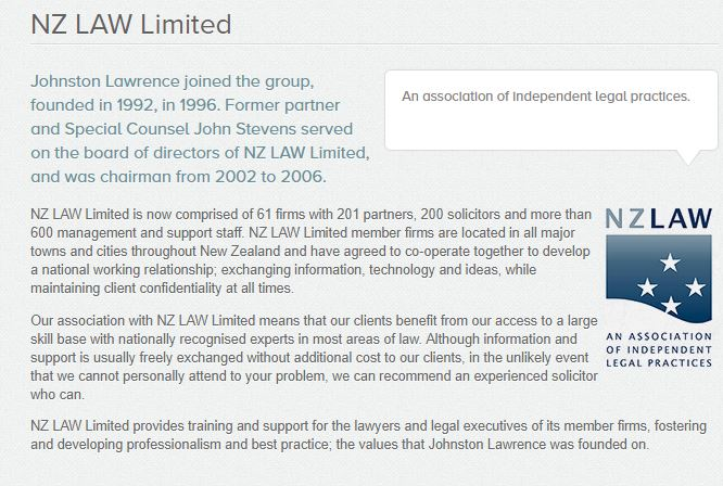 Transparency new zealand nz law limited which is according to the companies office jointly owned by 55 lawyers this from this link solutioingenieria Image collections